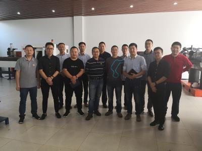 热烈欢迎广州威易迅人员来我司参加培训